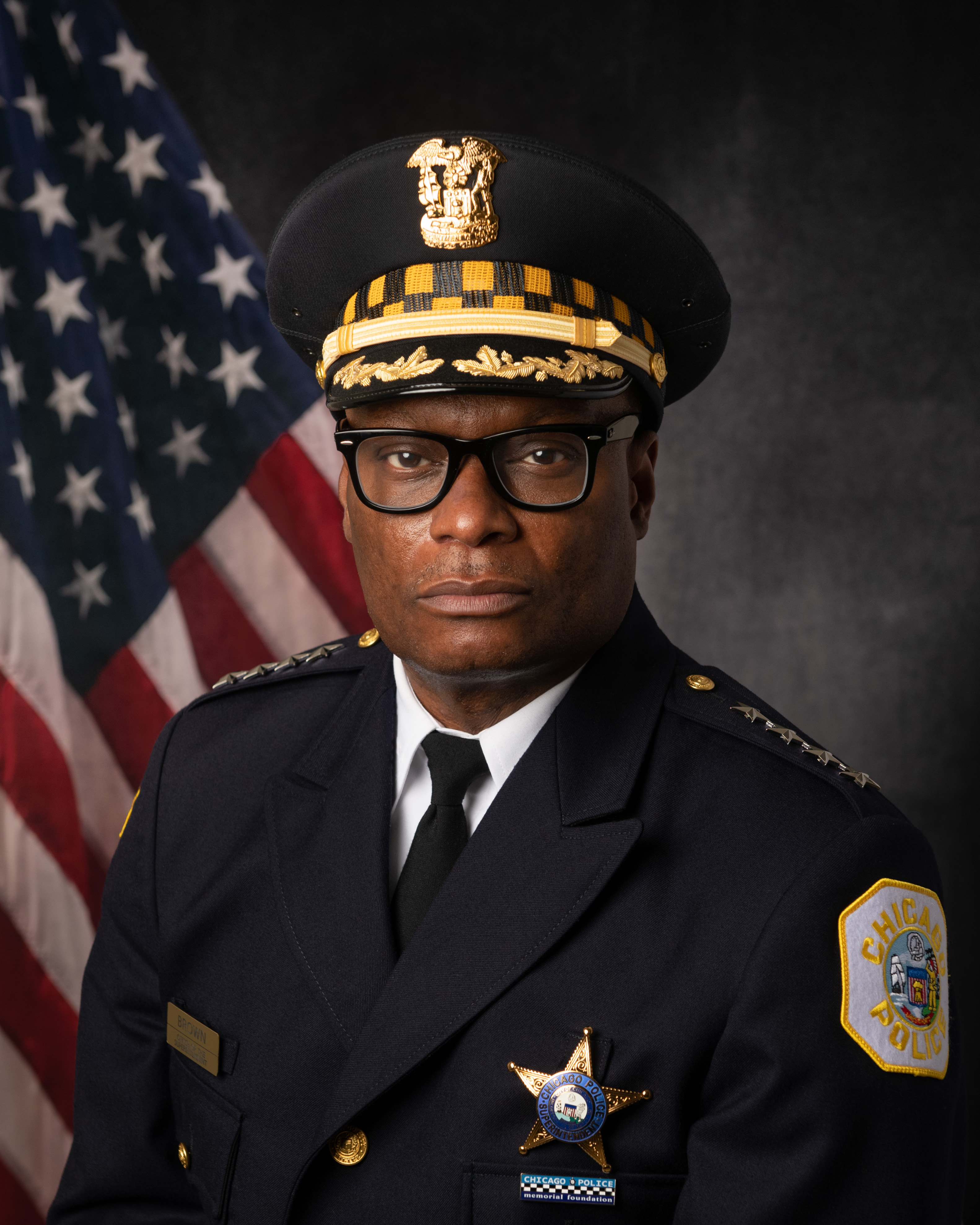 Superintendent of Police David O'Neal Brown